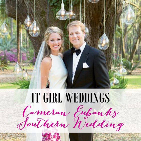 Cameran Eubanks and Dr. Jason Wimberly's Southern Wedding http://itgirlweddings.com/cameran-eubanks-southern-wedding/