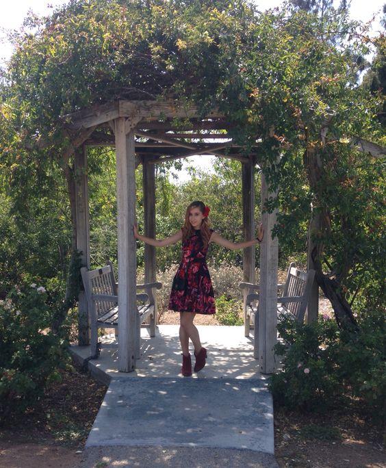 Gazebo love @ UCR's Botanic Gardens.