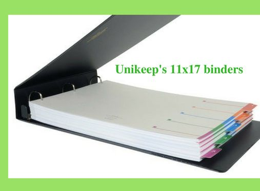 Keep Safe Your Important Data And Reports With Unikeep We Offer Quality 11x17 Binder That Protects Your Data W Portfolio Binder Binder