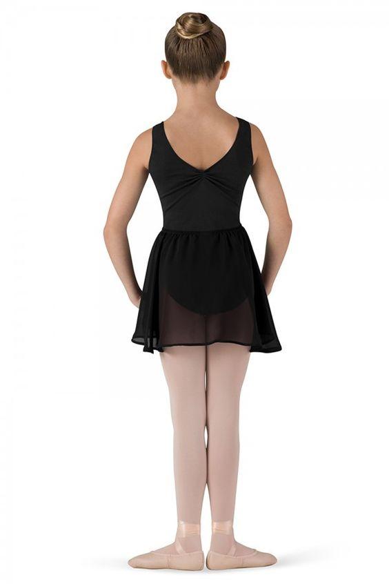Bloch Barre Girls Mock Wrap Ballet Skirt- Child CR5110