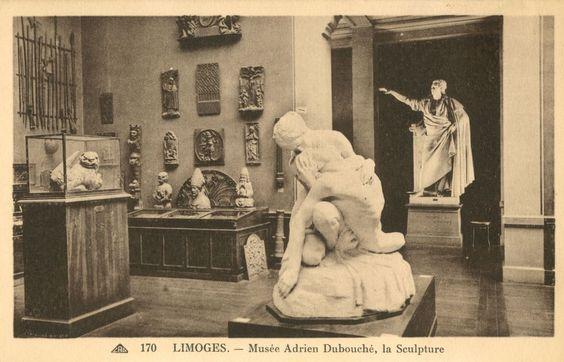 Musée Adrien Dubouché, la sculpture - Bfm Limoges.: