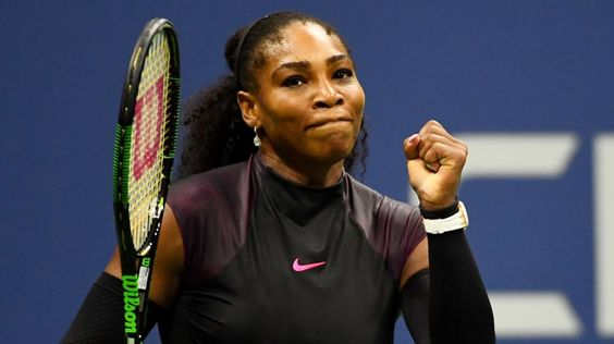 Serena Williams' serve was broken for the first time at this year's U.S. Open. Twice, in fact. She dropped a set for the first time in the tournament, too, pushed to the brink by Simona Halepin the quarterfinals.In a match filled with fantastic shotmaking and enthralling exchanges, neither ...