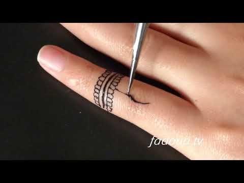 اسهل حيلة لرسم الحناء بكل سهولة Diy Henna Simple Diy Henna Simple اسهل الحناء بكل حيلة Simple Mehndi Designs White Butterfly Tattoo Mehndi Simple