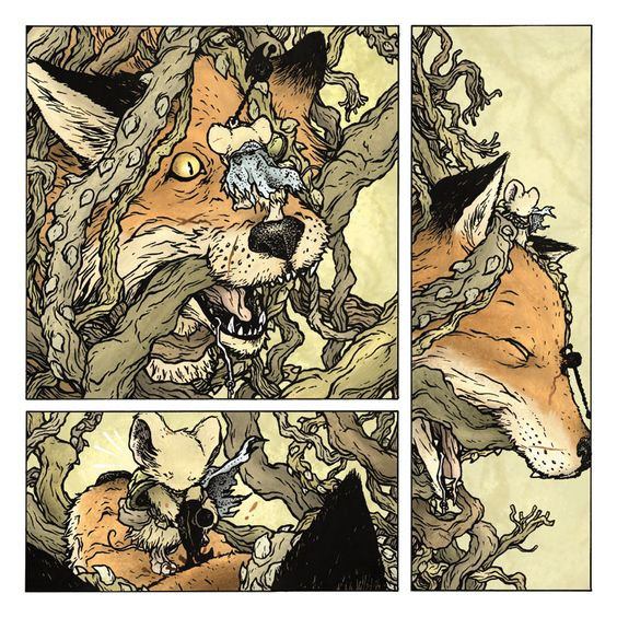 David Petersen, creator of Mouse Guard.