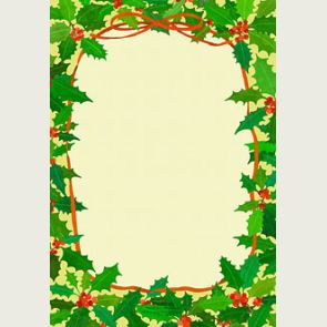 Christmas letter border download