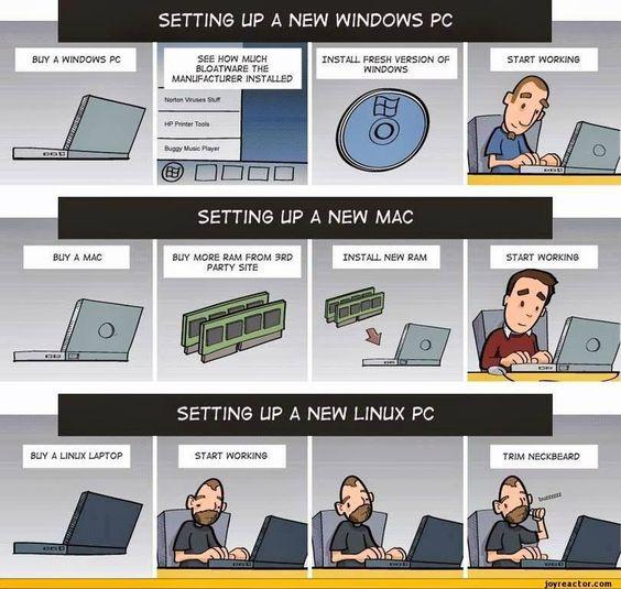 Configurando una nueva PC