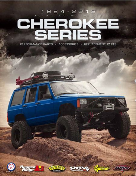 CATALOGUE JEEP CHEROKEE XJ 1984-01 ( format PDF )