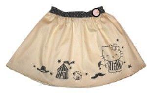 Misha Lulu Misha Circus HK Bravo Sateen with Kitty Circus Print Skirt