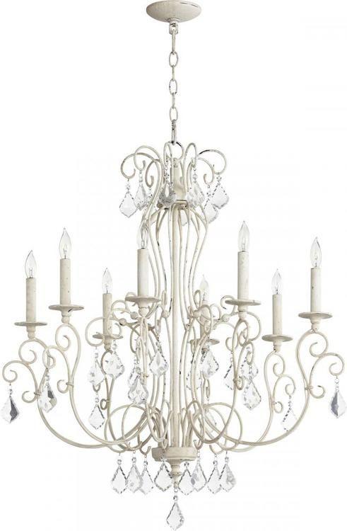 Quorum Lighting 6205 8 70 Ariel Chandelier Persian White Chandelier Lighting Chandelier Ceiling Lights Candle Chandelier