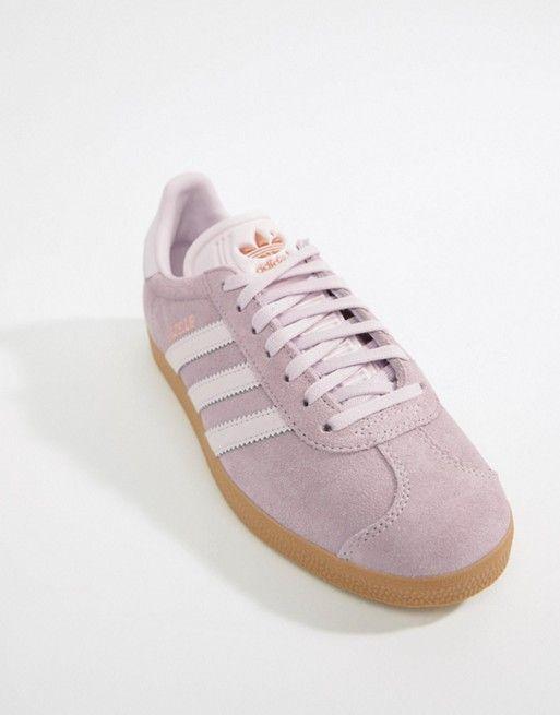 adidas originals pastel gazelle trainers
