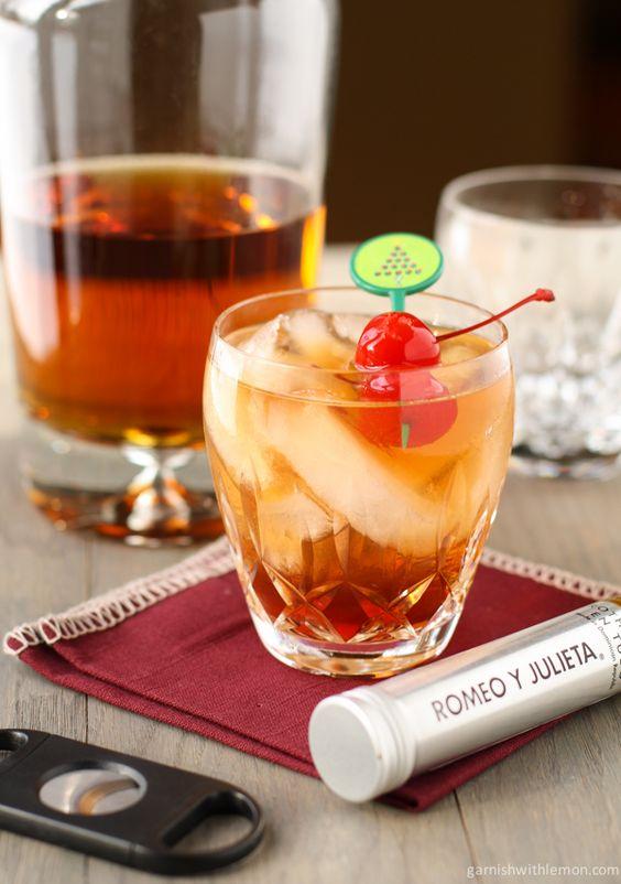 Pinterest the world s catalog of ideas for Manhattan cocktail