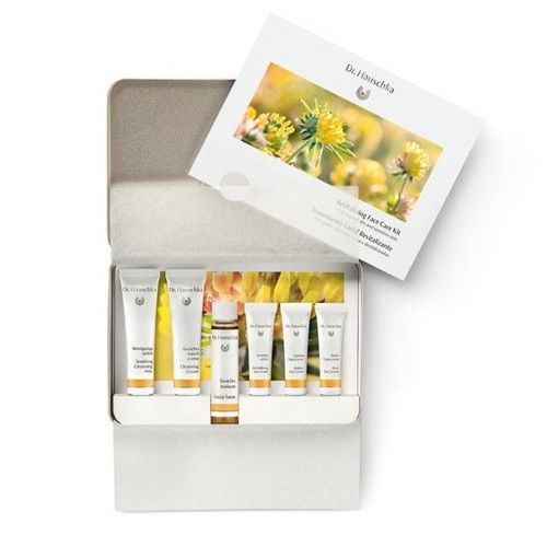 Set facial revitalizante (6 productos) Dr Hauschka