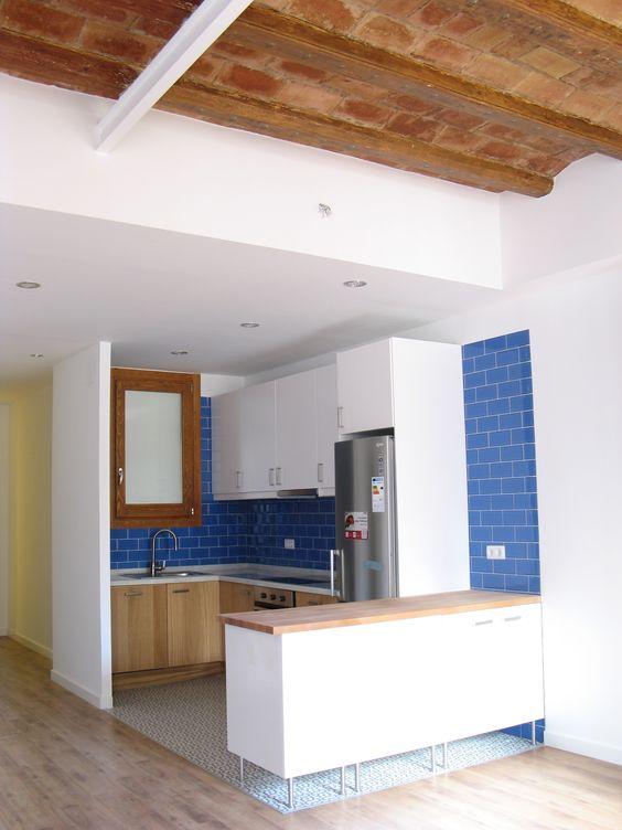 Comedor #cocina #salon #contemporaneo #decoracion via @planreforma ...