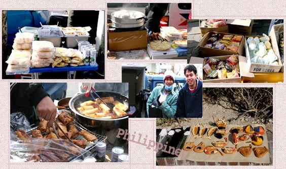 Những quán hàng ở chợ Philippine ở Daehangno Ảnh: visitkorea.org