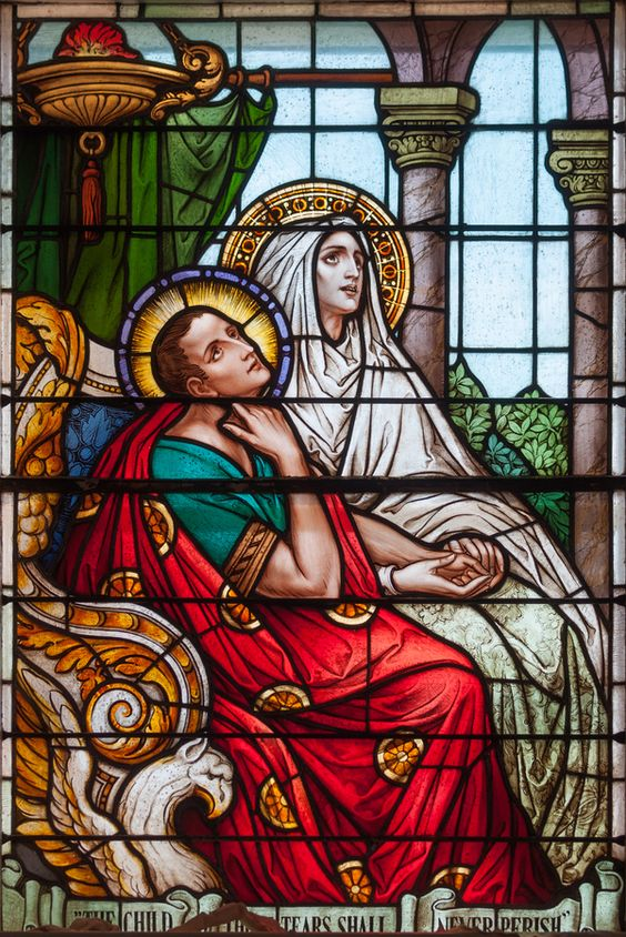 Requiescentes in Deo by Nicholas Haggin on 500px Saint Monica and her son, St. Augustine: