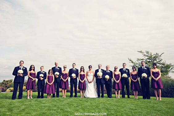 Inspired by these jewel tone wedding colors wedding Navy purple color