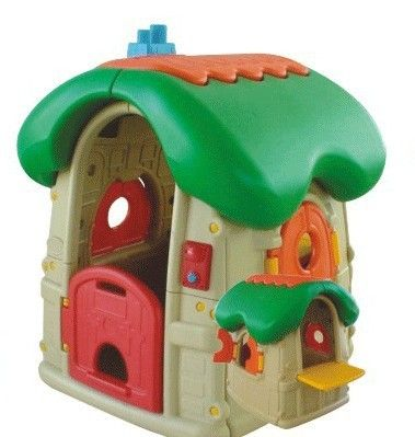Little tikes playhouse, Mushroom house and Bounce houses ...