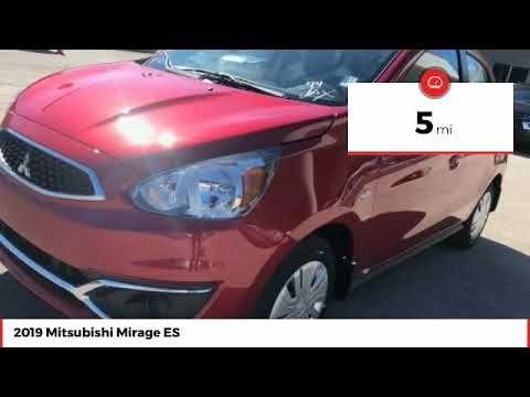 2019 Mitsubishi Mirage Es New N10568 Mitsubishi Mirage Mitsubishi Daytona Beach