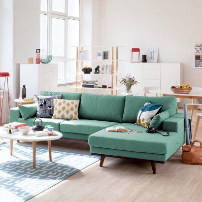 Canapé d'angle Billund - Tissu