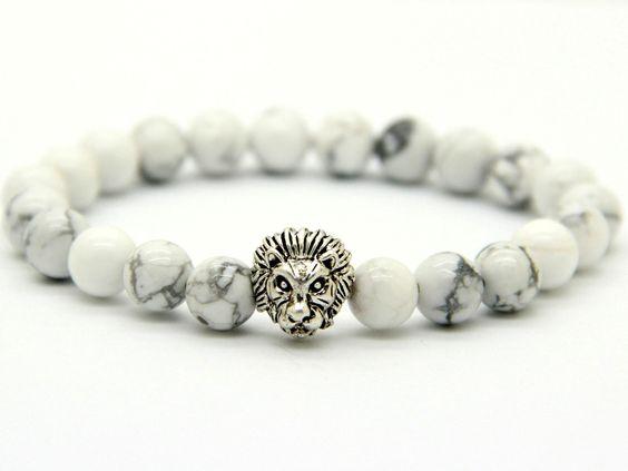 Savannah Howlite Stone Bracelet
