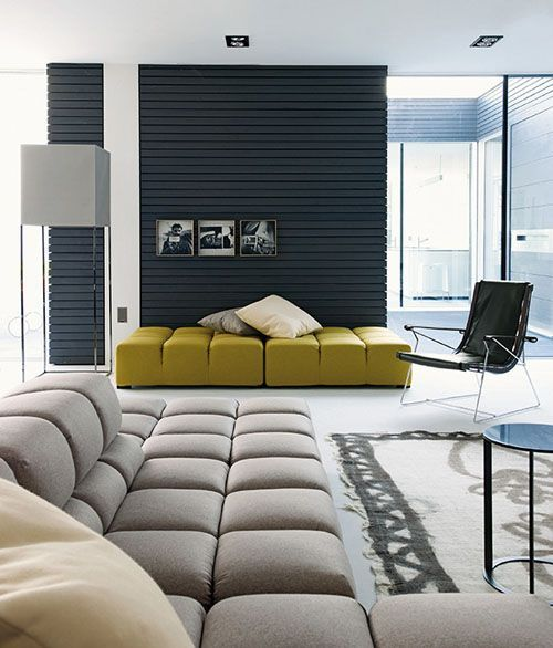 The Elegant Bolton Sectional Sofa By Giuseppe Vigano | Rug Placement,  Living Rooms And Room