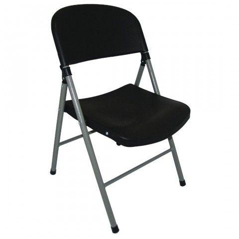 Chaises Pliantes Bolero Noires Et Grises Chaise Pliante Bolero Noir Chaise