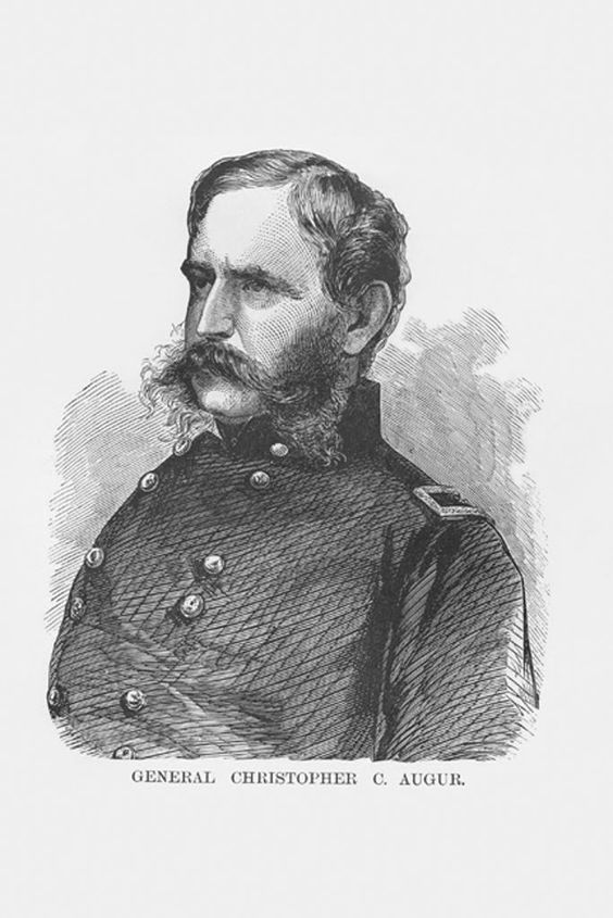 General Christopher C. Augur, by Frank Leslie