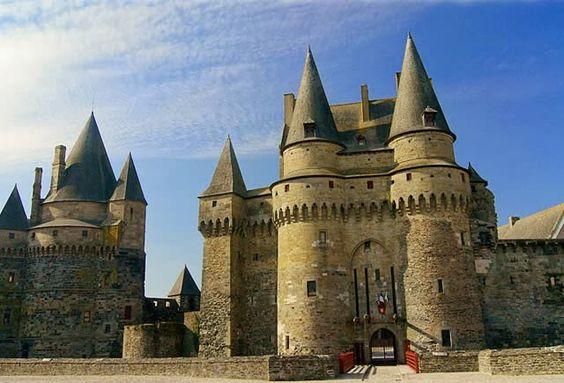 CASTELO (CHÂTEAU) DE VITRÉ - Em Vitré, Bretanha, França: