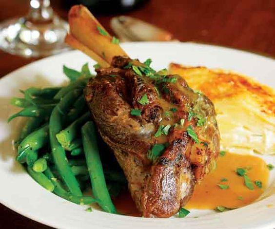 ... aux Aulx) | Recipe | Braised Lamb Shanks, Braised Lamb and Lamb Shanks