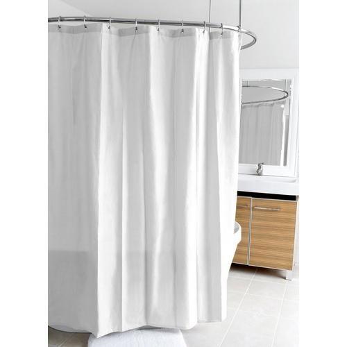 Splash Home Ella Microfiber Shower Curtain Liner In 2020 Fabric Shower Curtains Curtains Coral Shower Curtains