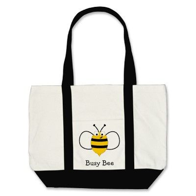 $25.95 Busy Bee Tote Bag. To hold all the homework, textbooks, etc that teachers have to carry back and forth!