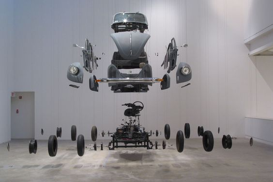 Damián Ortega, Cosmic Thing, 2002