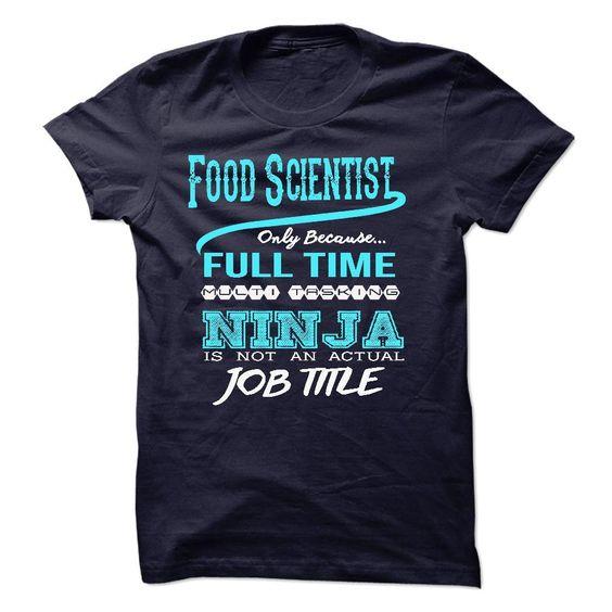 Ninja Food Scientist T-Shirt T Shirt, Hoodie, Sweatshirt