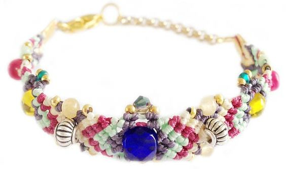 Handmade macrame bracelet ★ Ibiza ★