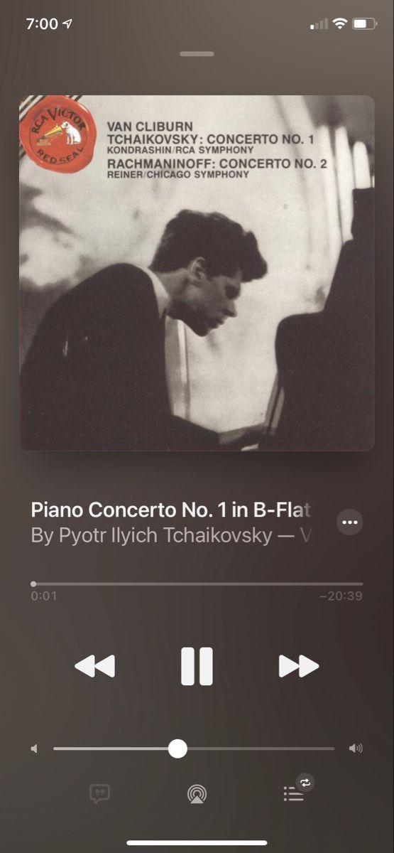 Piano Concerto No 1 B Flat Minor Op 23 Pyotr Ilyich Tchaikovsky Rachmaninoff Piano Symphony