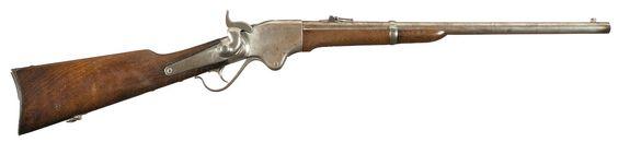 Spencer Repeating Rifle .56  http://milpas.cc/rifles/ZFiles/United%20States%20Rifles/SPENCER%20CIVIL%20WAR%20CARBINE/imageQ2T.JPG