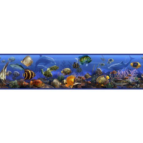 RoomMates RMK1004BCS Under the Sea Peel and Stick Wall Border by RoomMates. $13.98. From the Manufacturer                Decorate in seconds with this self-adhesive border!  Just Peel & Stick.  Removes in seconds without damaging the walls and is repositionable over and over.                                    Product Description                RMK1004BCS Features: -Wall border.-Great for kids bedrooms but also fun for family bathrooms and educational for classroom...