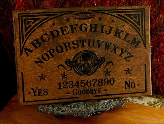 dating ouija boards The first ouija boards were produced by the kennard novelty company in 1890 the construction of these boards is quite unique they are made of two to three boards.