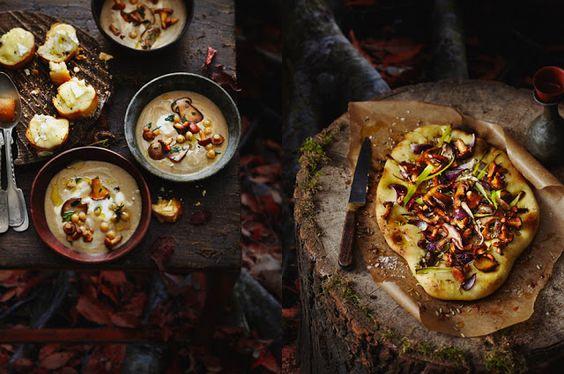 concept + styling : dietlind wolf recipes + foodstyling : pia westermann photos : torsten suedfels in print : frisch gekocht september issue