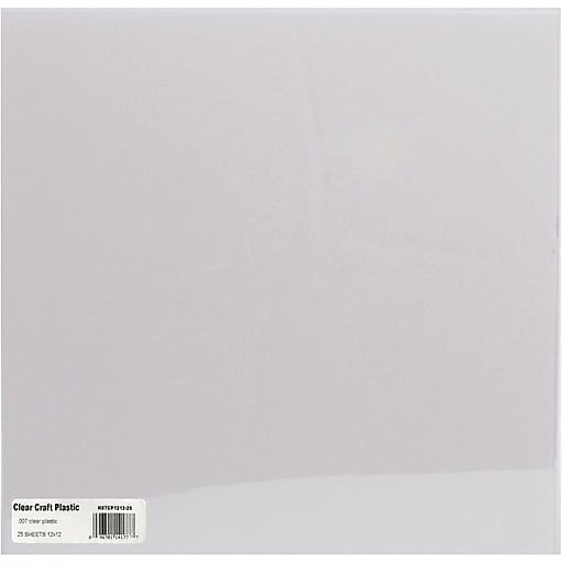Grafix Craft Plastic Sheets Clear 007 12 Plastic Sheets Sheets Craft Supplies
