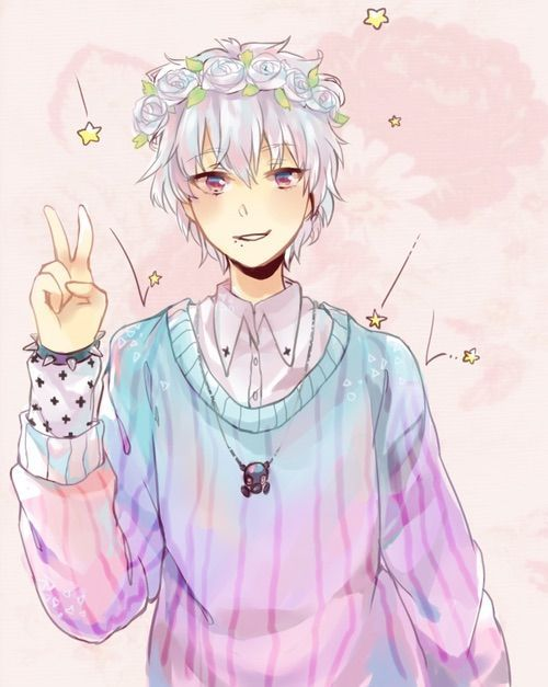 Anime Boy Anime Pastel Goth Aesthetic In 2020 Cute Anime Boy Pastel Goth Art Cute Art
