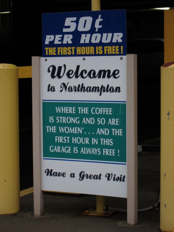 Welcome to Northampton!