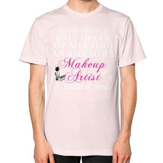 Make up artist Unisex T-Shirt (on man)