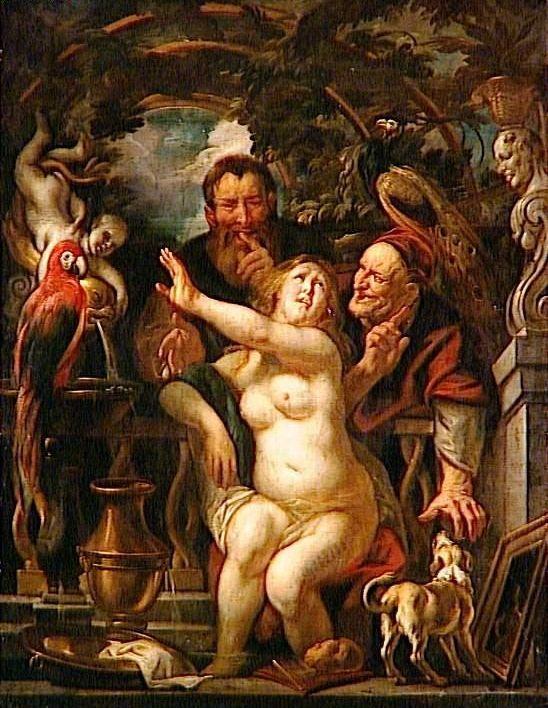 Jacob Jordaens. Susanna and the Elders. c. 1640