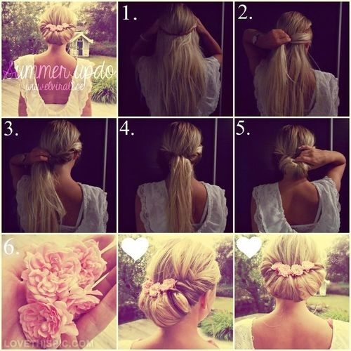 Diy summer updo hair hair color diy easy crafts diy ideas diy crafts diy summer updo hair hair color diy easy crafts diy ideas diy crafts do it yourself solutioingenieria Choice Image