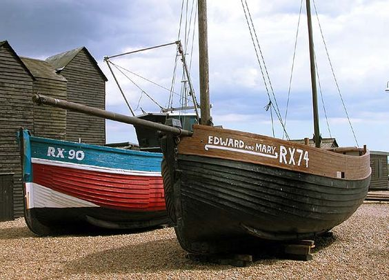 Fishing Boats and Net Huts - Hastings and St Leonards an online guide