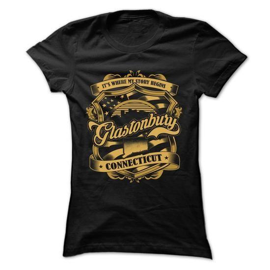 New Design - My Hometown Glastonbury - Connecticut - #gift box #mason jar gift. GET => https://www.sunfrog.com/LifeStyle/New-Design--My-Hometown-Glastonbury--Connecticut-Ladies.html?68278