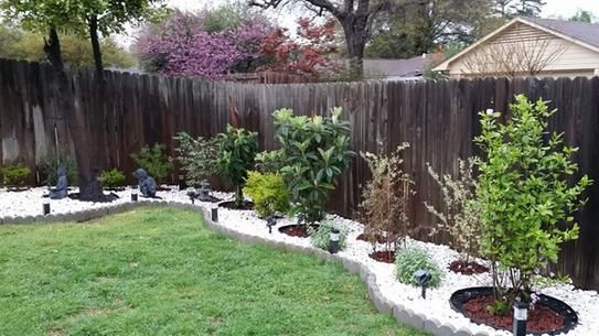 User Submitted Photo Pavers Backyard Rock Garden Landscaping Gravel Landscaping