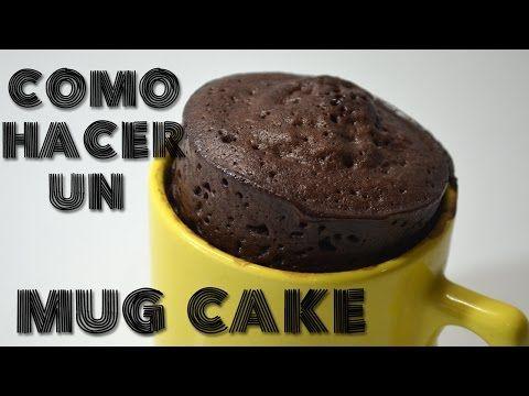 Como hacer un mug cake - YouTube