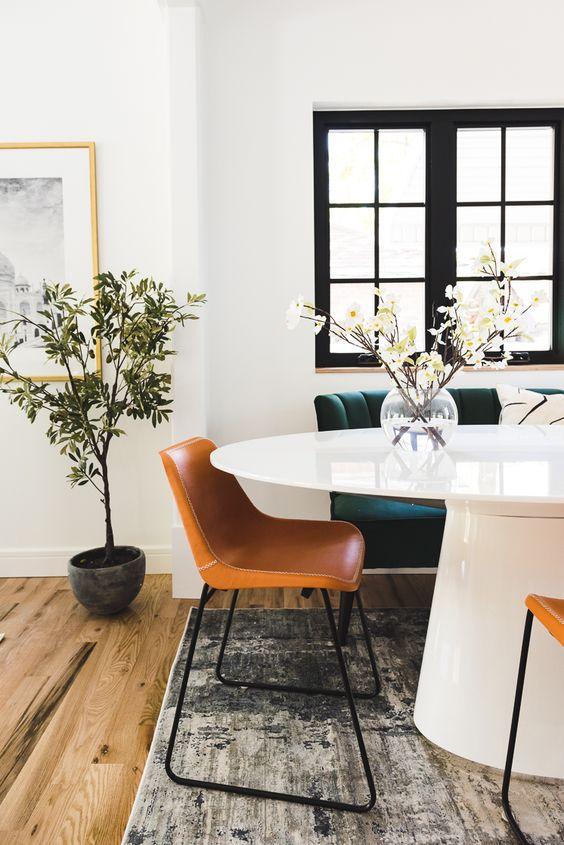 Modest Dining Area